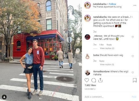 Natalie Barbu is dating Cook since 2018