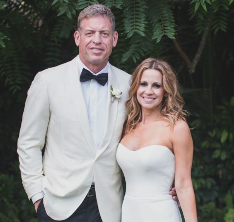 Troy Aikman married for the second time in 2017 with Catherine Mooty.