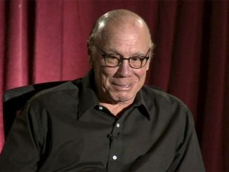 Dayton Callie in a black shirt.