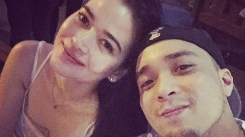 Actress, Bela Padilla along with her ex-partner, Neil Arce.