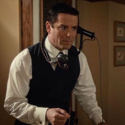 Yannick Bisson in character of  William MurdochDetective