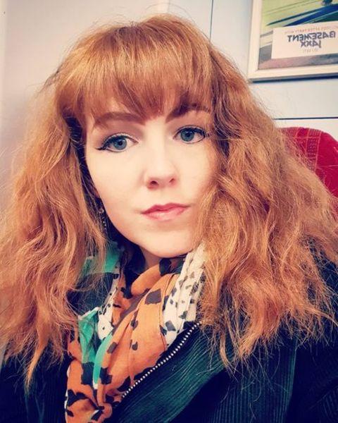 Josie Charlwood's selfie.