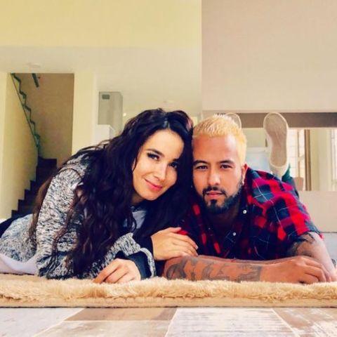 Majida Issa along with her boyfriend, Juan Carlos Mazo.