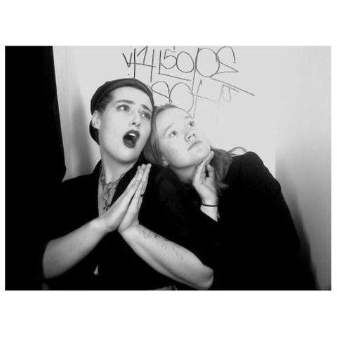 Actress, Liv Hewson gving pose along with her friend, Grayson.