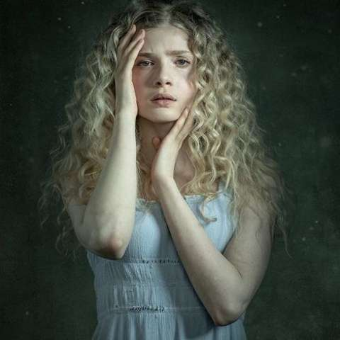 Actress, Elena Kampouris during one of her photoshoot.