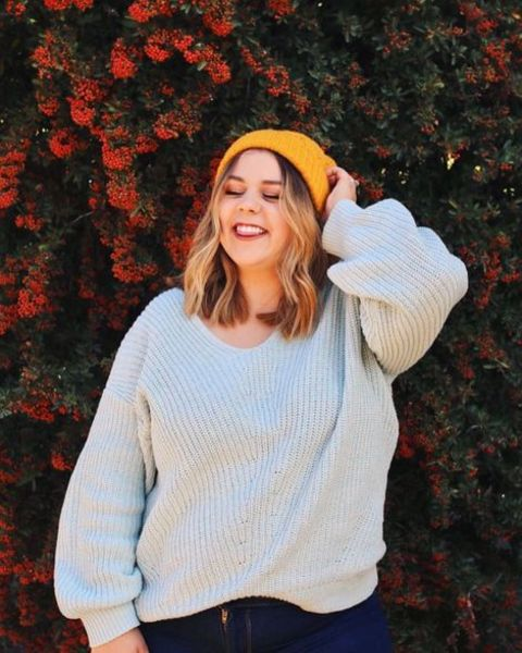 YouTuber, Sierra Schultzzie giving a pose.
