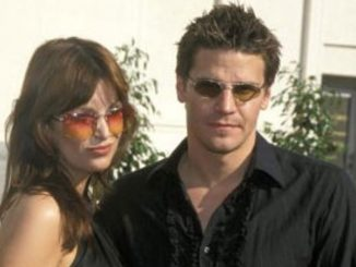 Ingrid Quinn divorced David Boreanaz on 1999.