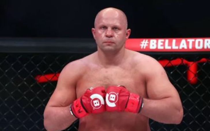 Fedor was born in Ukraine and grew up in Russia.