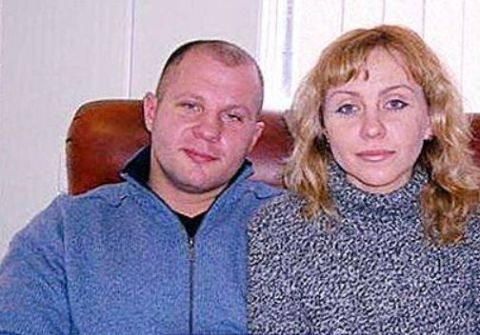 Oksana was Fedor's high school love.