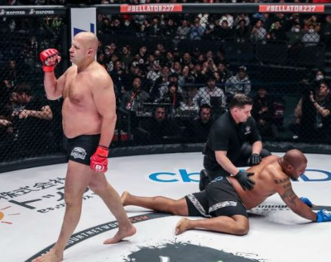 Fedor won his fight against the Rampage.