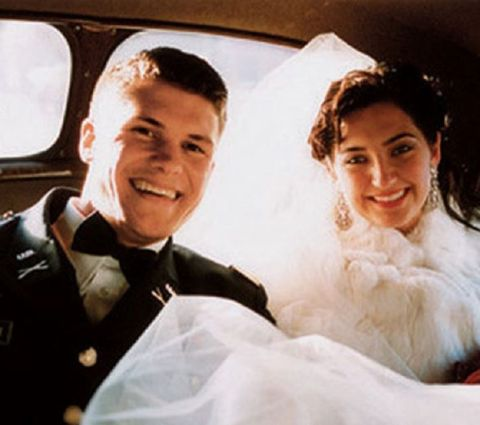 Pete married his first wife in 2004.