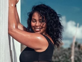 Tabria Majors is a plus size model. who has a fortune of around $1 million