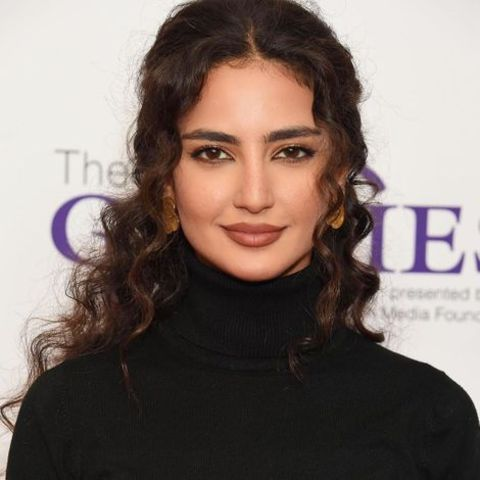Actress, Medalion Rahimi attending an event.