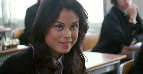 Nathalie Kelley appears as the antagonist's girlfriend