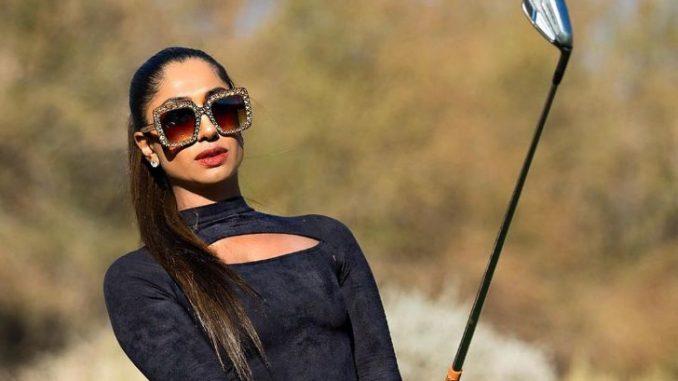 Seema Sadekar has been playing professional golf since 2008. Source: Instagram