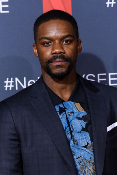 Jovan Adepo clicked in an event.