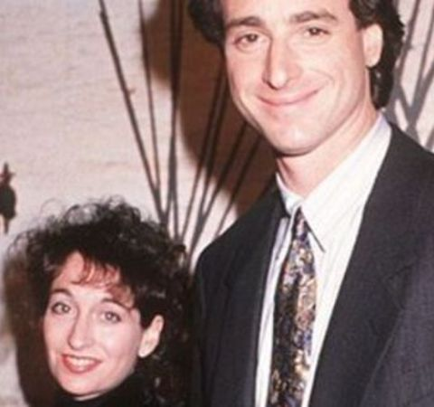 Sherri Kramer poses alongside ex-husband Bob Saget.