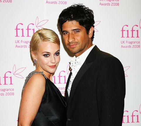 Raza Jaffrey and his ex-wife, Miranda Raison.