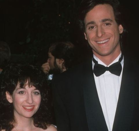 Sherri Kramer poses for a picture alongside husband Bob Saget.