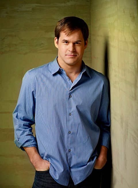 Kyle Bornheimer giving a pose in one of his photoshoots.