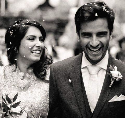 Hamza Jeetooais married with Natalie Perera.