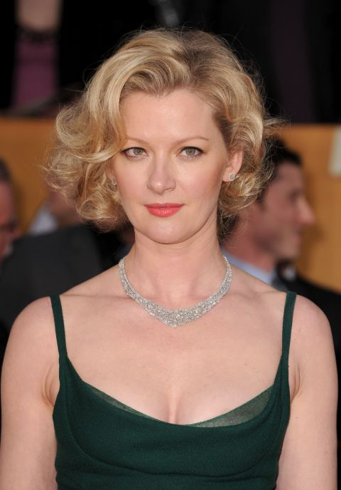 Gretchen Mol clicked during an event.
