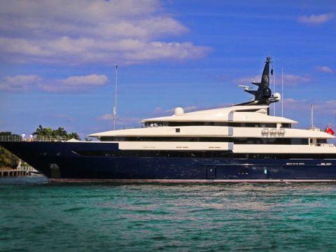 Steven Spielberg's former yacht, The Seven Seas.
