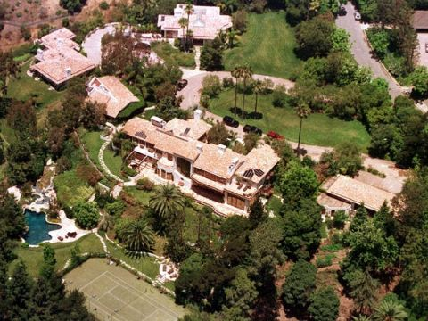 Steven Spielberg's house of Pacific Palisades.