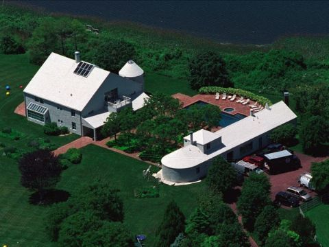 Steven Spielberg's Hampton house.