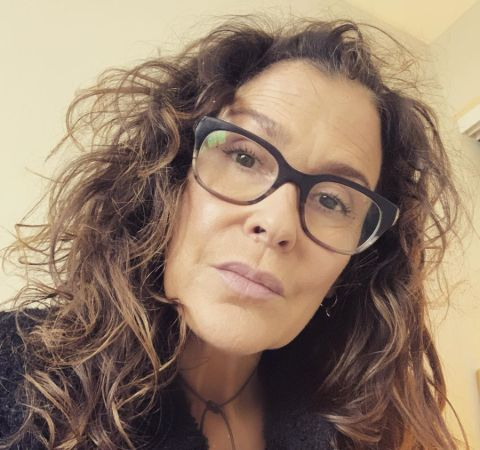Songwriter Susannah Melvoin poses for a selfie.