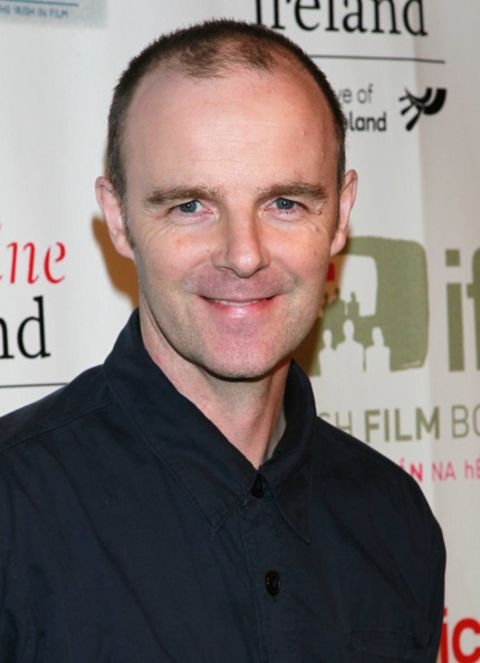 Brian F. O'Byrne giving a pose in an event.