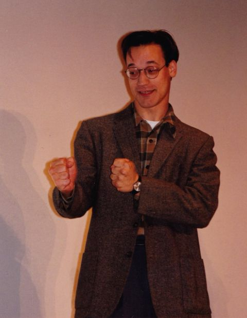 Ted Raimi clicked during duing some poses.