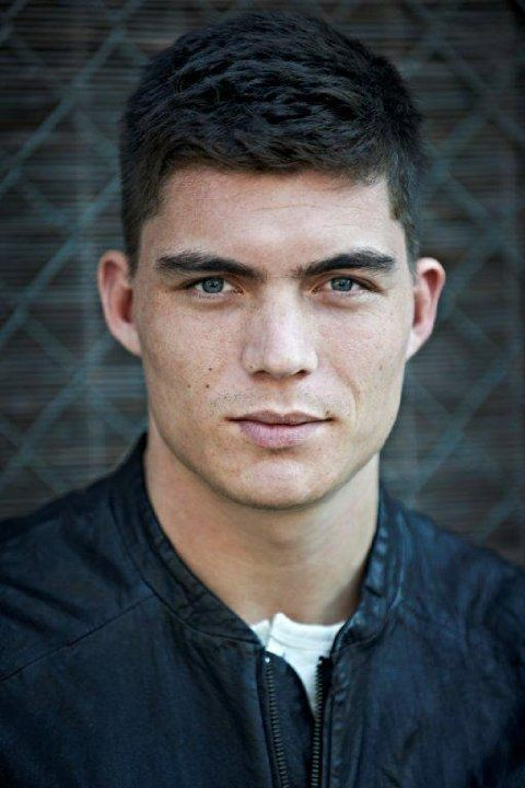 Zane Holtz giving a pose during one of his photoshoots.