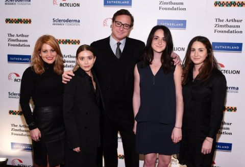 saget family with Ashley olsen