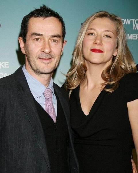 Branka Katic giving a pose along with her husband, Julian Farino.
