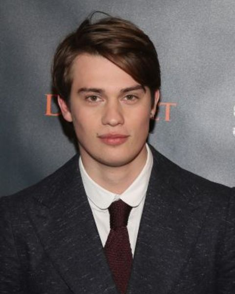 Nicholas Galitzine giving a pose in an event.