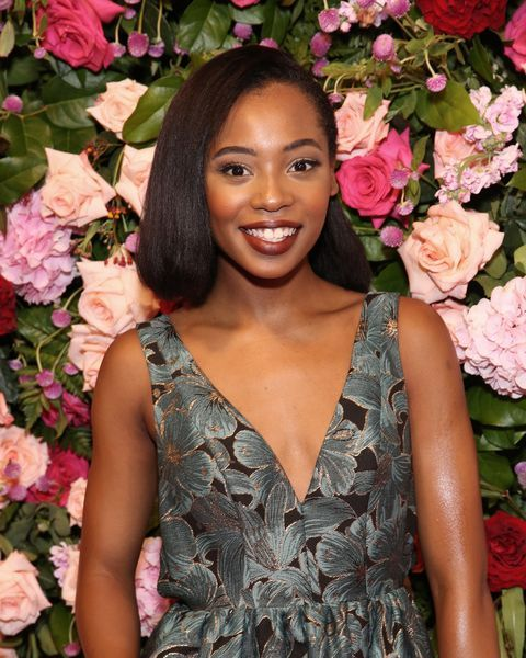 Hailey Kilgore giving a pose in an event.