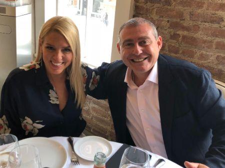 Pam Bondi with her former boyfriend Greg Henderson