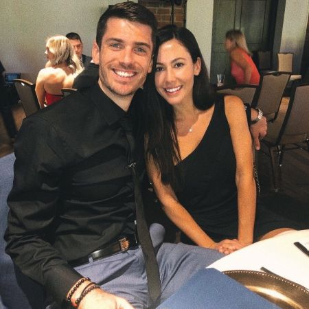 Matthew Anderson poses a picture with his fiancee Jackie Gillum.