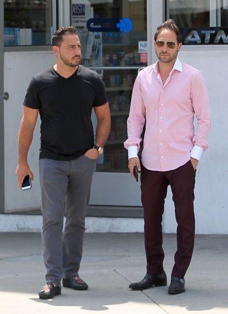 Josh Altman with his brother Matt Altman