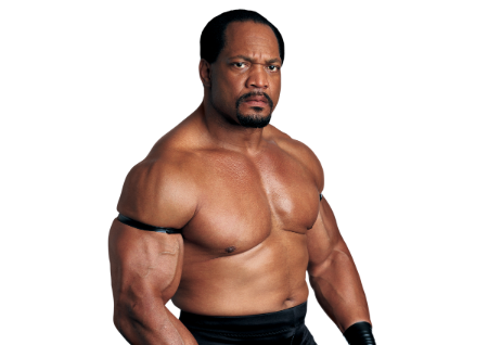 Ron Simmons poses for a picture.