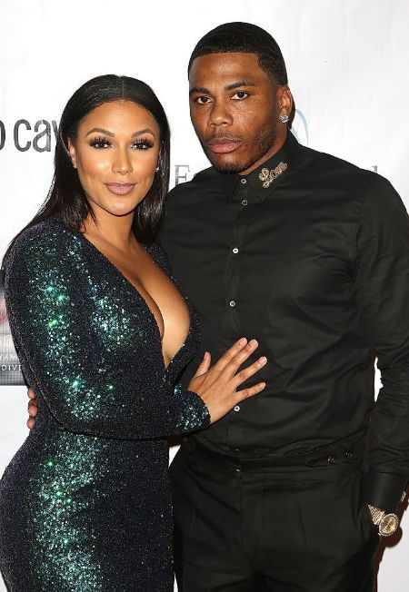 Shantel Jackson With Her Boyfriend Nelly