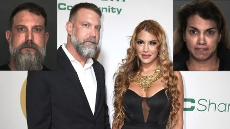 Mercedes Carrera With her Husband Jason  Whitney