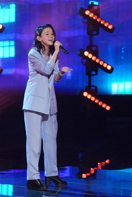 Daneliya Tuleshova At AGT Semi-Finals