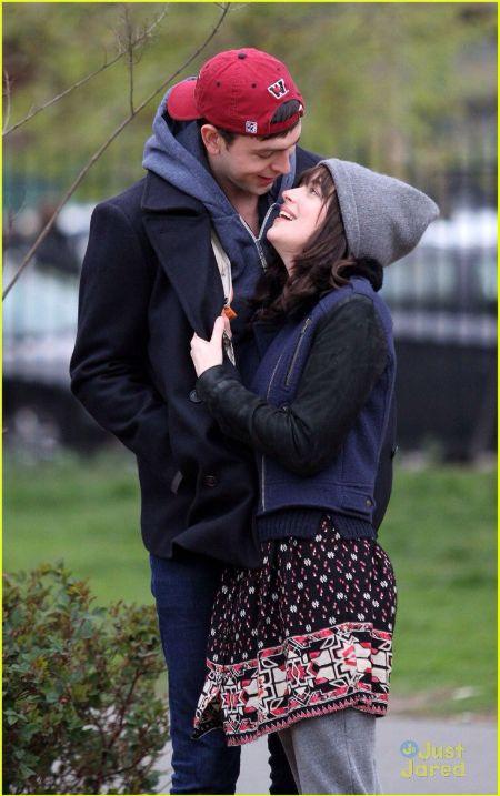 Nicholas Braun With her former Girlfriend Dakota Johnson