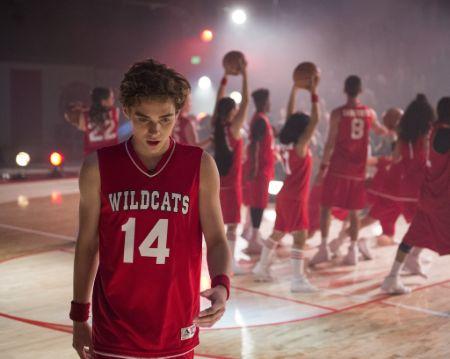 Joshua Bassett as Ricky Bowen In High School Musical