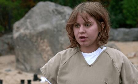 "Emily Althaus as Maureen Kukudio in ""OITNB"""