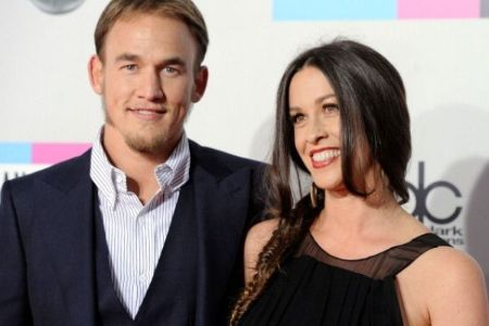 Souleye with his wife Alanis Morissette