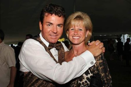 John  Schnatter with Wife Annette Cox