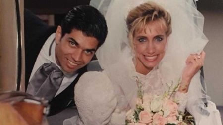 Lorenzo and Lili at their marriage